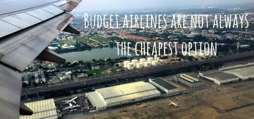 Budget airlines are not always the cheapest option