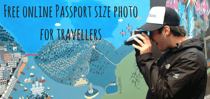 Free online Passport size photo for travellers