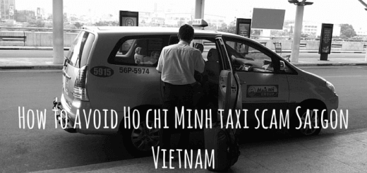 How to avoid Ho chi Minh taxi scam Saigon Vietnam