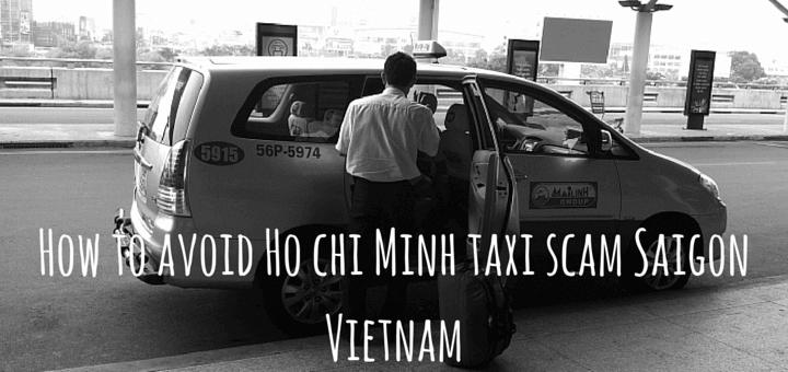 Taxi scam in Ho Chi Minh Saigon Vietnam