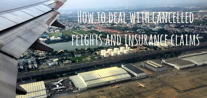 How to deal with cancelled flights and insurance claims