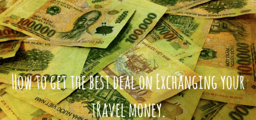 How to get the best deal on Exchanging your travel money.
