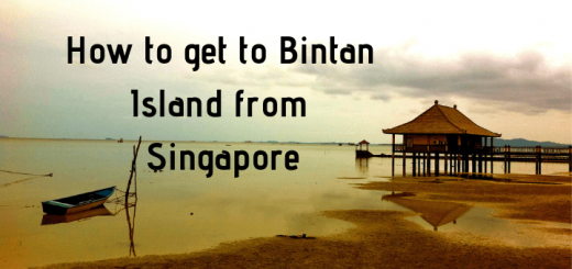 How to get to Bintan Island from Singapore