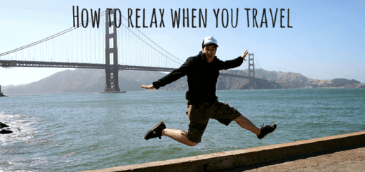 How to relax when you travel