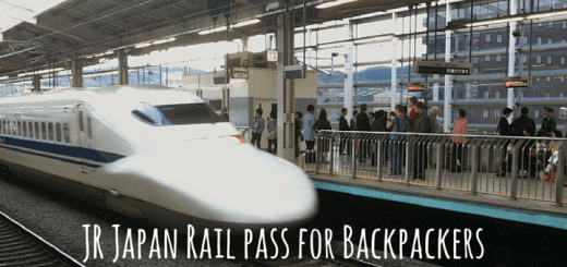 JR Japan Rail pass for Backpackers