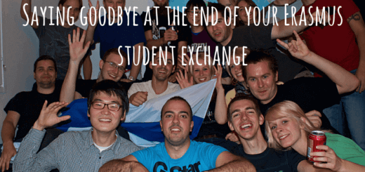 Saying goodbye at the end of your Erasmus student exchange