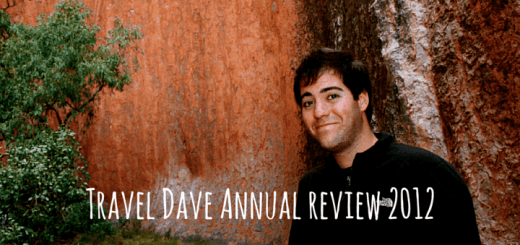 Travel Dave Annual review 2012