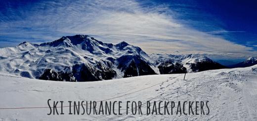 Ski insurance for backpackers