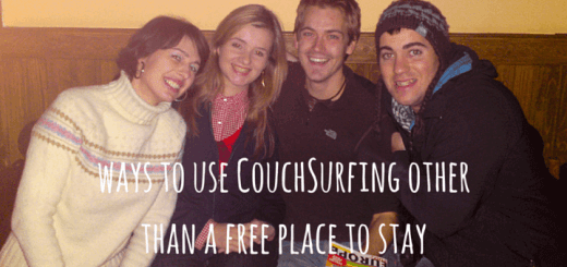 ways to use CouchSurfing other than a free place to stay