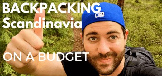 backpacking Scandinavia on a budget