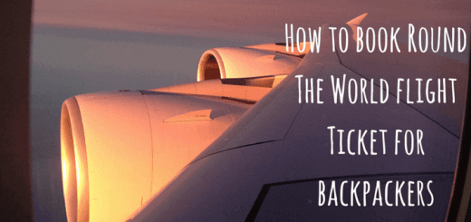 How to book Round The World flight Ticket for backpackers