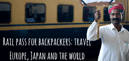 Rail pass for backpackers: travel Europe, Japan and the world