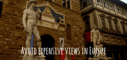 Avoid expensive views in Europe