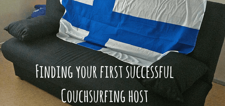 Finding your first successful Couchsurfing host