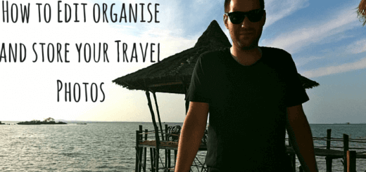 How to Edit organise and store your Travel Photos