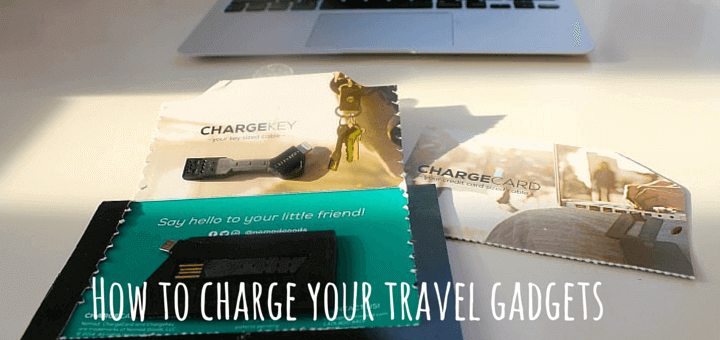 How to charge your travel gadgets