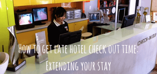 How to get late hotel check out time: Extending your stay