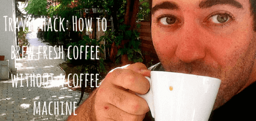 Travel Hack: How to brew fresh coffee without a coffee machine