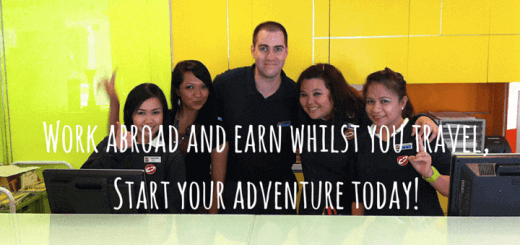 Work abroad and earn whilst you travel, Start your adventure today!