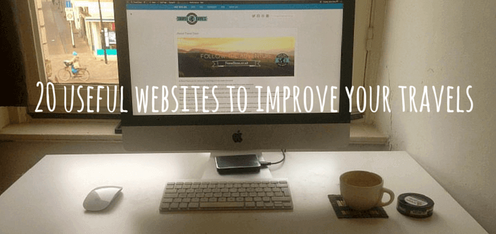 20 useful websites to improve your travels