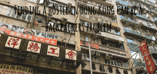 Finding a hostel in Hong Kong can be a backpackers problem