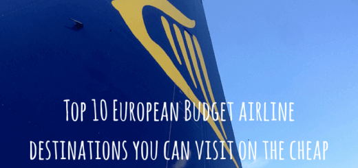 Top 10 European Budget airline destinations you can visit on the cheap