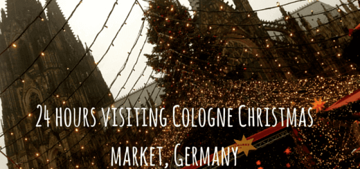 24 hours visiting Cologne Christmas market, Germany