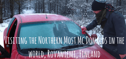 Visiting the Northern Most Mc Donalds in the world, Rovaniemi, Finland