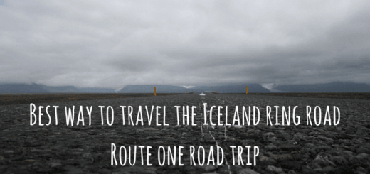Best way to travel the Iceland ring road Route one road trip