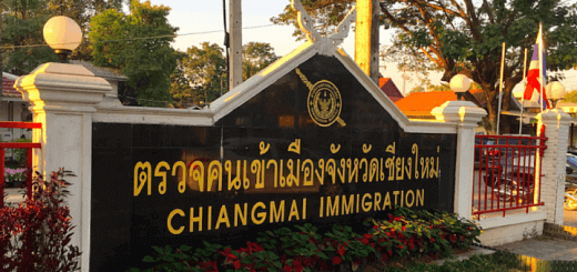 Extending your Thai Tourist Visa stamp in Chiang Mai, Thailand