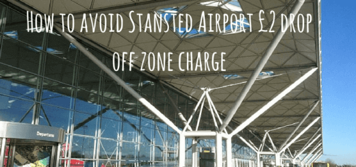 How to avoid Stansted Airport £2 drop off zone charge
