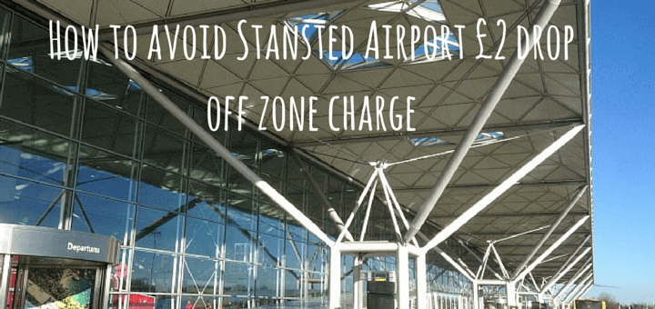 how to avoid stansted airport 2 drop off zone charge