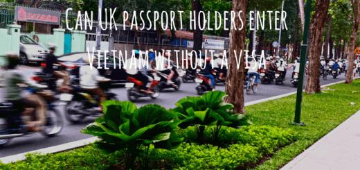 Can UK passport holders enter Vietnam without a visa
