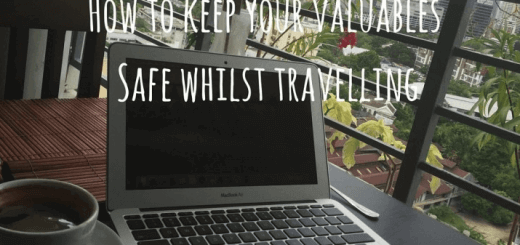 How to secure your electronics, gadgets & valuables whilst travelling
