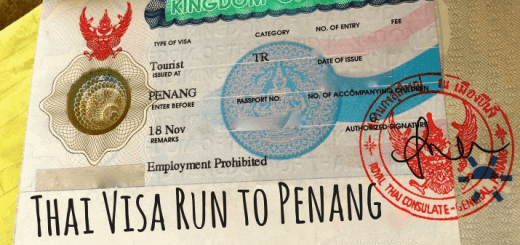 How to do a Visa run to Penang, Malaysia from Koh Phangan, Thailand