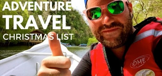 Adventure Travel Christmas list