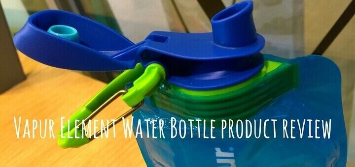 Vapur Element Water Bottle product review