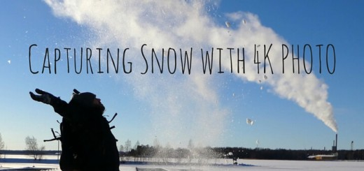Capturing Snow with 4K Photo