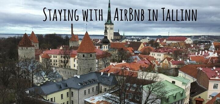 Staying with AirBnb in Telliskivi, Tallinn, Estonia.