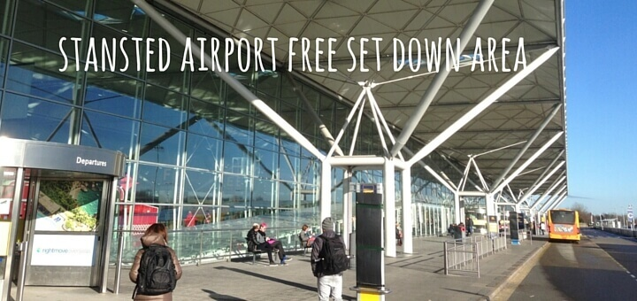 stansted airport free set down area