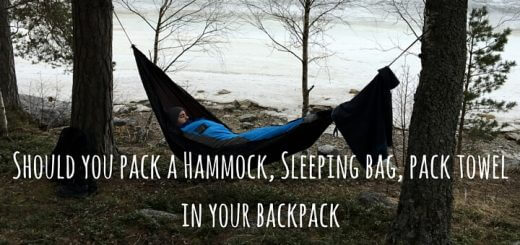lifeventure Should you Pack a Sleeping Bag, Pack Towel or Hammock?