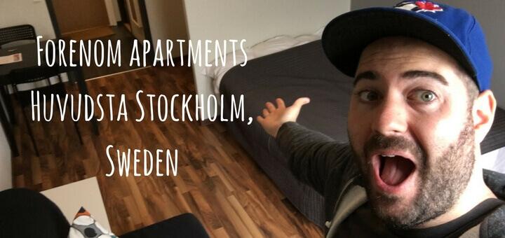 Forenom apartments Huvudsta Stockholm, Sweden