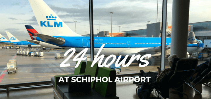 24 hour layover at Schiphol Amsterdam airport with KLM