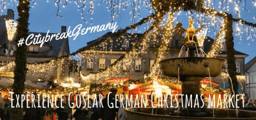 Experience Goslar German Christmas market #CitybreakGermany