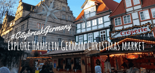 Explore Hamelin German Christmas market #CitybreakGermany