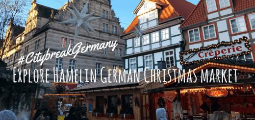 Explore Hamelin German Christmas market #CitybreakGermany