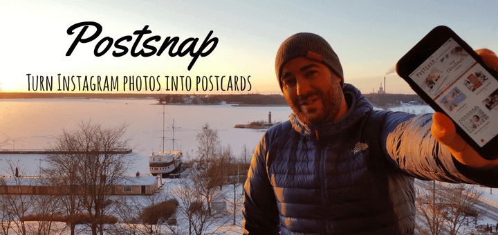 Postsnap Turn Instagram photos into postcards
