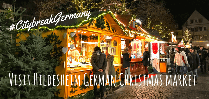 Visit Hildesheim German Christmas market #CitybreakGermany