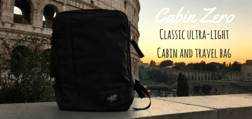 Classic ultra-light cabin and travel bag