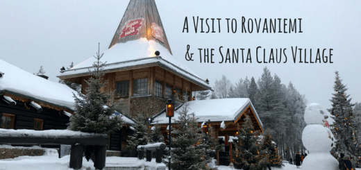 A Visit to Rovaniemi and the Santa Claus Village